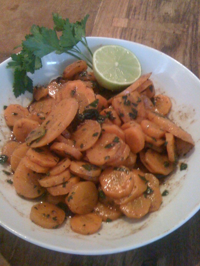 Antipasti marocchini alle carote