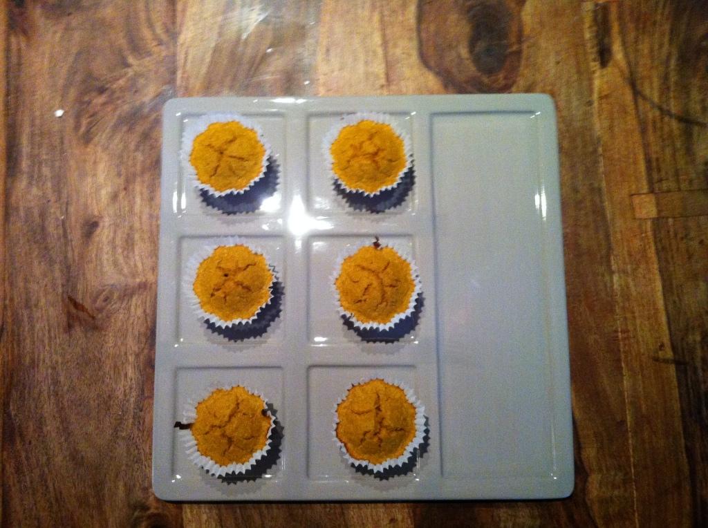 Muffin di zucca Dukan