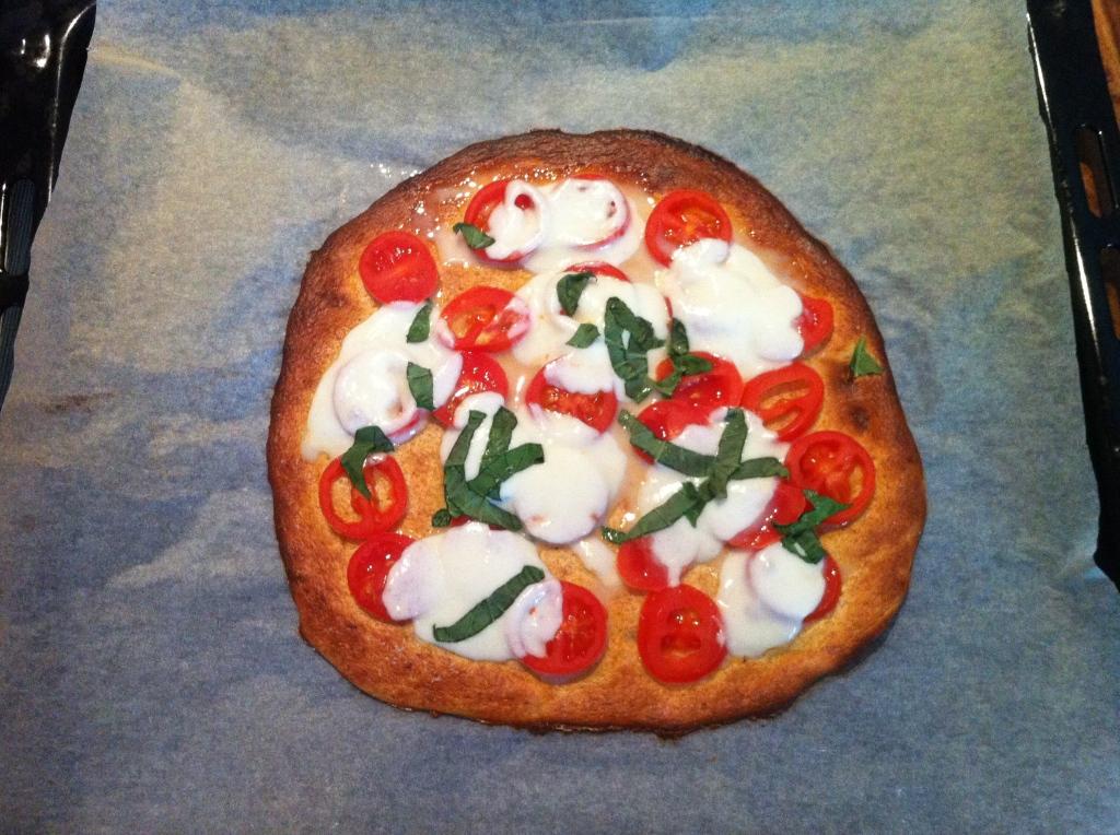 Pizza margherita Dukan