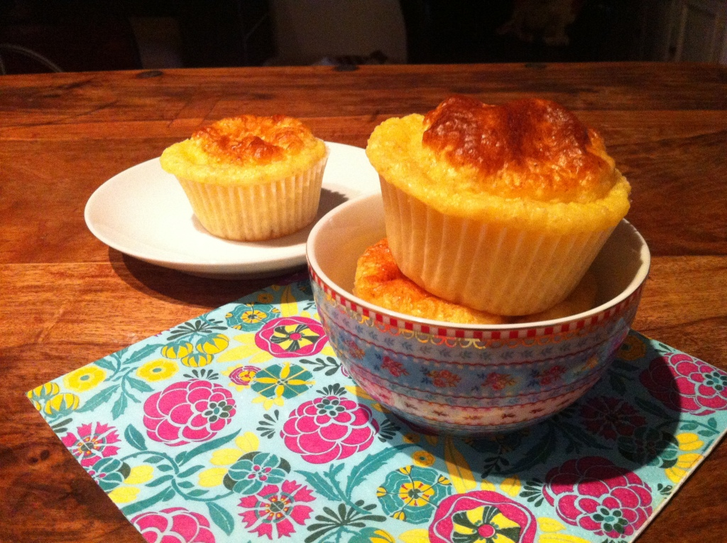 Muffins Dukan vaniglia cocco