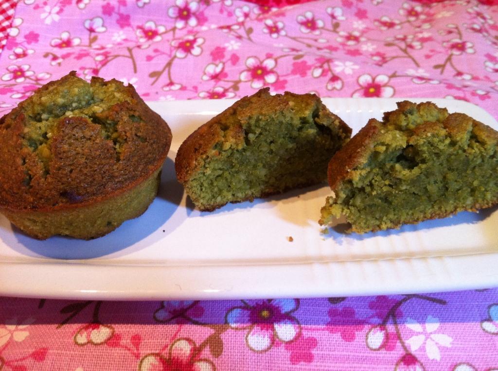 Financiers au thè matcha (Piccoli cake al tè verde)