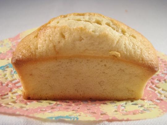 Mini Plum Cake con jogurt al limone